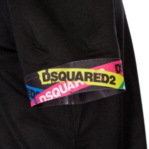 DSQUARED2 T SHIRT D9M202490 001 NERO