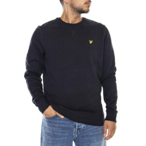 LYLE & SCOTT FELPA CREW NECK ML1131V 572 NERO