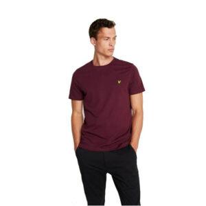 LYLE & SCOTT t shirt TS400V 865 BORDO