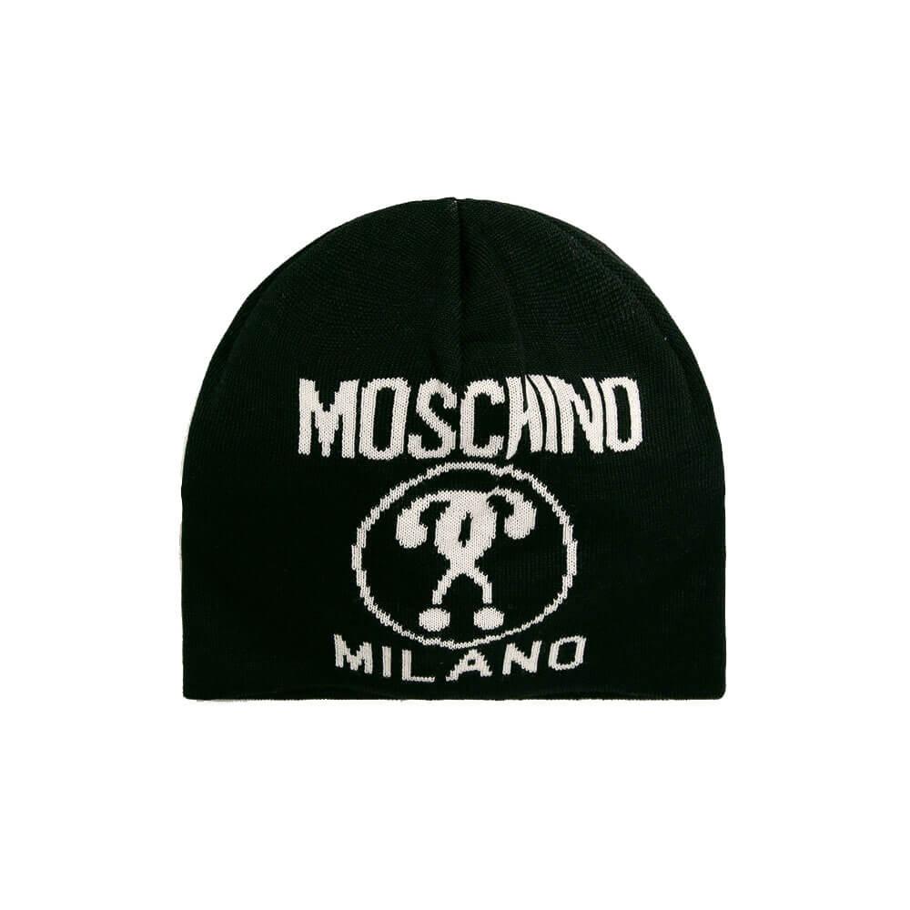 Moschino Berretto Uomo M5274 60046 016 Nero