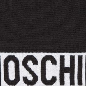 MOSCHINO SCIARPA DONNA M2106 30632 016 NERO