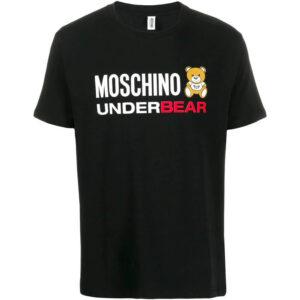 MOSCHINO T SHIRT UOMO A1914 8103 555 NERO