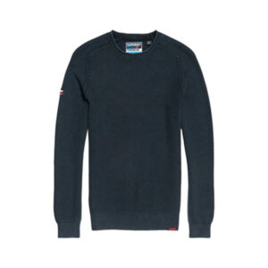 SUPERDRY PULL ACADEMY CREW M6100018A NAVY