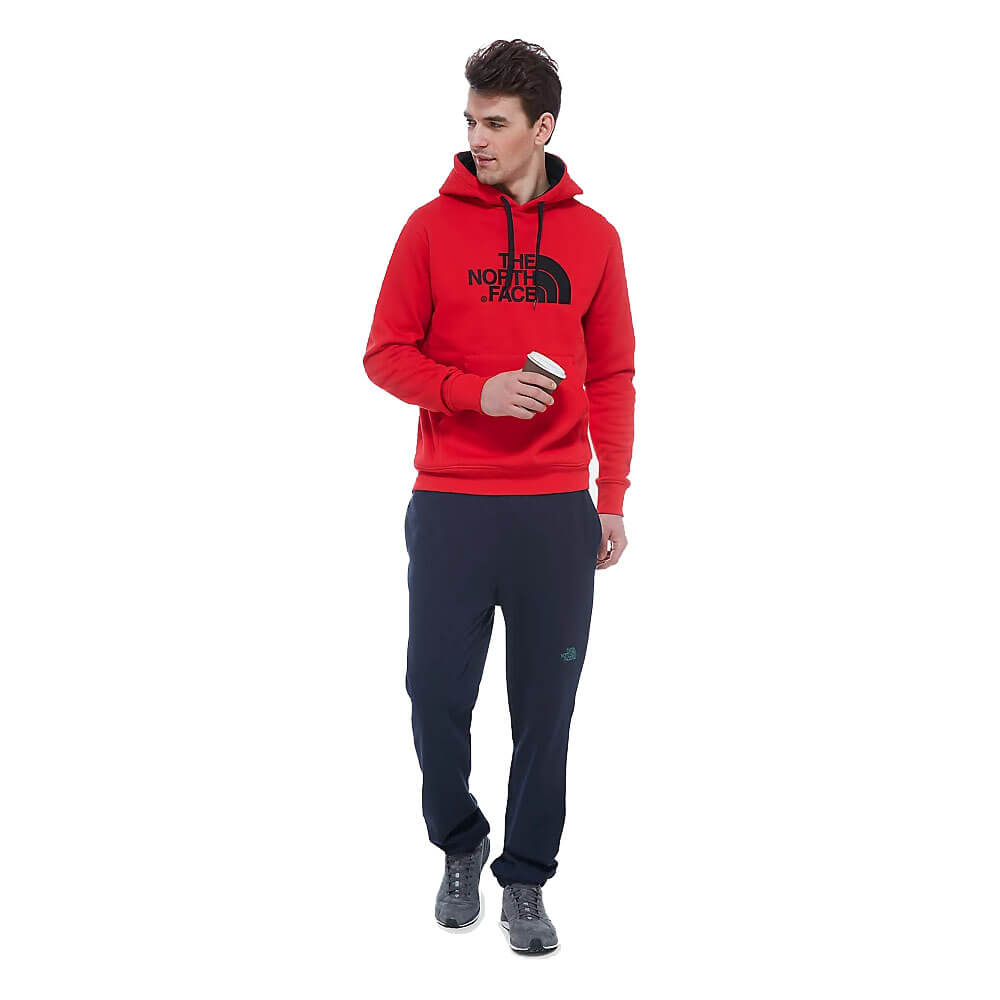 THE NORTH FACE FELPA HOOD PEAK T0AHJY64M RED