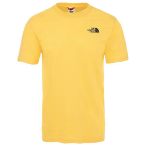 THE NORTH FACE T SHIRT T92TX2LR0 YELLOW
