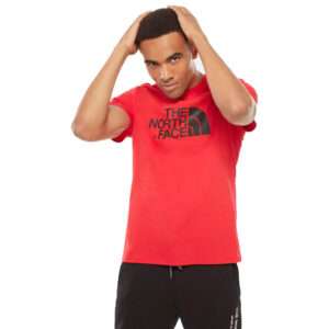 THE NORTH FACE T SHIRT T92TX3KZ3 RED