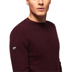 SUPERDRY PULL ACADEMY CREW M6100001A BORDEAUX