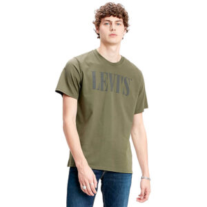 LEVI'S T SHIRT UOMO 69978 0028 VERDE MIL