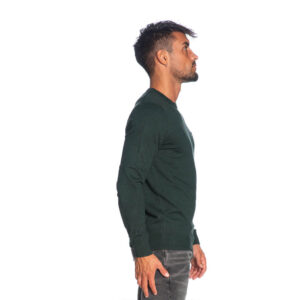 LYLE & SCOTT PULL Cotton Merino Jumper KN400VC Z615 VERDE