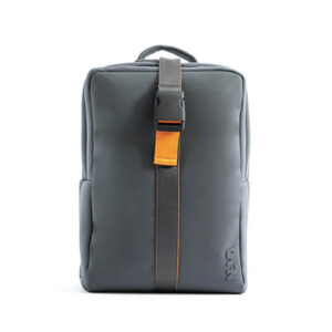 NAVA FLAT BACKPACK MEDIUM GREY ORANGE FT070GA