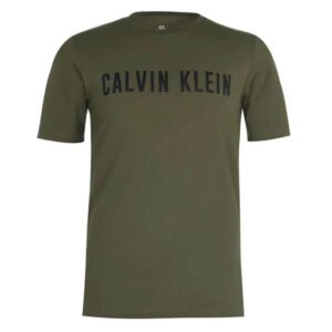CALVIN KLEIN T SHIRT UOMO 00GMF8K160 307 GRAPE LEAF