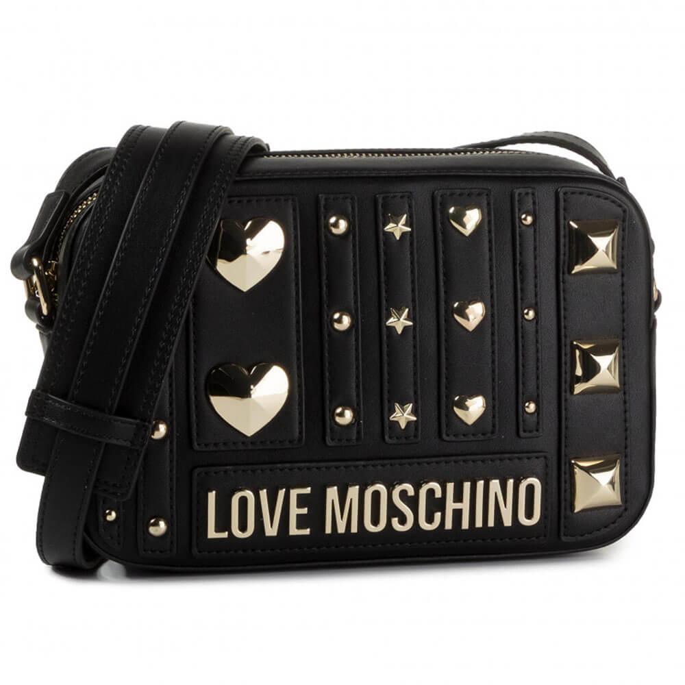 LOVE MOSCHINO BORSA PU NERO JC4240PP08KF0000