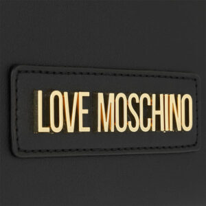 LOVE MOSCHINO BORSA PVC NERO GALV ORO JC4260PP0AKM000A