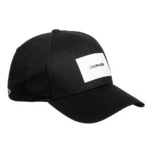 CALVIN KLEIN TWILL CAP KU0KU00060 BEH BLACK