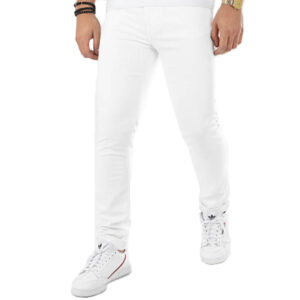 GUESS UOMO JEANS M02A27 D3ZY1 TDRE BIANCO