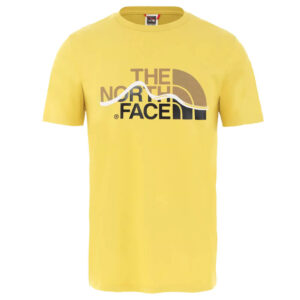 THE NORTH FACE T SHIRT SS MOUNT LINE TEE BAMBOO YELLOW NF00A3G2ZBJ1