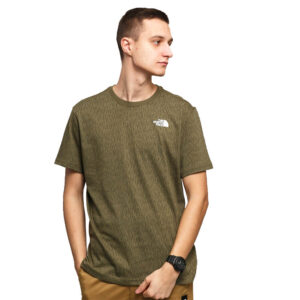 THE NORTH FACE T SHIRT NF0A2TX2M1A1 VERDE
