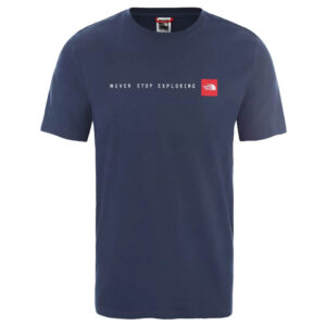 THE NORTH FACE T SHIRT SS NSE TEE BLU NF0A2TX4PW11