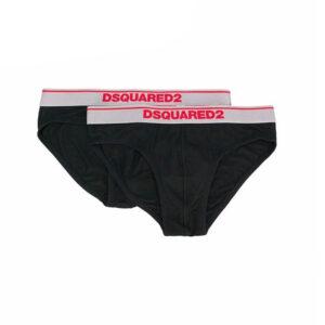 DSQUARED2 BRIEF BIPACK DCX610050 001 NERO