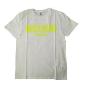 MOSCHINO T SHIRT UOMO A1903 2303 1026 BIANCO