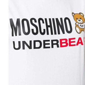 MOSCHINO T SHIRT DONNA A1904 9003 001 BIANCO