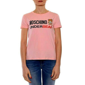 MOSCHINO T SHIRT DONNA A1904 9003 0133 ROSA
