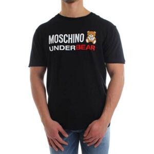 MOSCHINO T SHIRT UOMO A1914PE20 8103 555 NERO