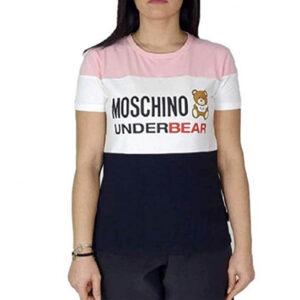 MOSCHINO T SHIRT DONNA A1915 9003 1133 MULTI