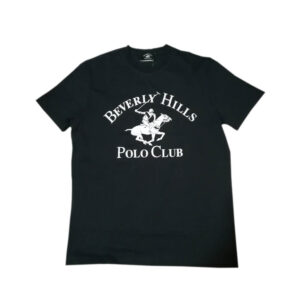 BEVERLY HILLS POLO CLUB T SHIRT BHPC3877 BLU