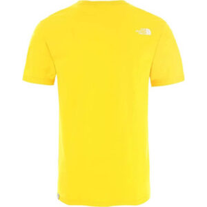 THE NORTH FACE T SHIRT M S/S EASY TEE TNF LEMON NF0A2TX3DW91
