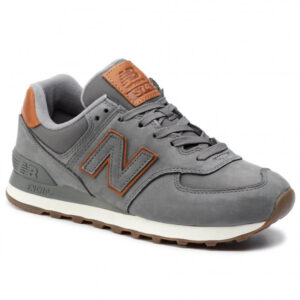 NEW BALANCE SCARPA LIFESTYLE UOMO ML574NBA GRIGIO