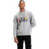 LEVI'S FELPA Crewneck Serif Sweater 73459 0000 grigio
