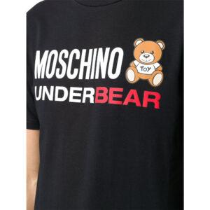 MOSCHINO T SHIRT UOMO A1914 8107 555 NERO