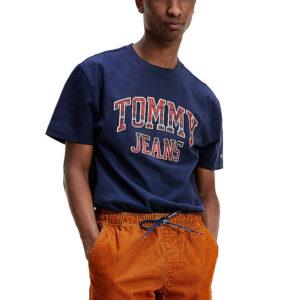 TOMMY JEANS T SHIRT DM0DM08789 C87 BLU