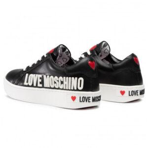 LOVE MOSCHINO SNEAKERS CASSETTA35 VITELLO NERO JA15063G1BIA0000