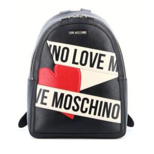 LOVE MOSCHINO BORSA CALF PU NERO AVORIO JC4029PP1BLD100A
