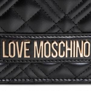 LOVE MOSCHINO BORSA QUILTED NAPPA PU NERO JC4059PP1BLA0000