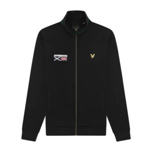 LYLE & SCOTT FELPA ZIP ML1343V 572 NERO