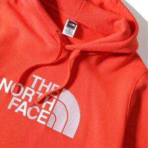 THE NORTH FACE FELPA CAPPUCCIO UOMO Drew Peak NF00AHJYUT51 ARANCIO