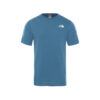 THE NORTH FACE T SHIRT NF0A2TX2SF71 PETROLIO