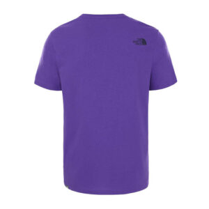 THE NORTH FACE T SHIRT NF0A2TX3NL41 PURPLE