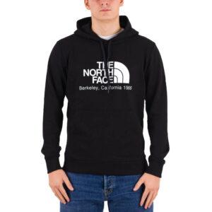 THE NORTH FACE FELPA CON CAPPUCCIO UOMO BRKL CALI HD NF0A4M94JK31 NERO