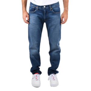 LEVI'S JEANS 502 TAPER SMOKE STACKED 29507 0777