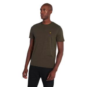 LYLE & SCOTT t shirt TS400V W123 TREK GREEN