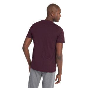 LYLE & SCOTT t shirt TS400V Z562 BURGUNDI