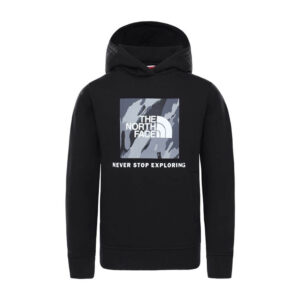 THE NORTH FACE Y BOX P/O HOODIE TNF BLACK NF0A4MA5JK31