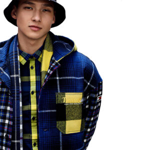 TOMMY JEANS PLAID JACKET DM0DM08751 OMZ
