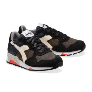 Diadora Heritage TRIDENT 90 leather 176592 80001 NERO FUMO