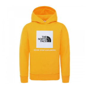 THE NORTH FACE Y BOX P/O HOODIE SUMMIT GOLD NF0A4MA556P1