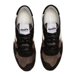 Diadora Heritage TRIDENT 90 leather 176592 80001 NERO FUMO
